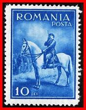 ROMANIA 1932 KING CAROL II on HORSE SC#416 MLH CV$12.00 (E-B5)
