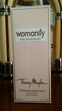 Discontinued Womanity Eau Pour Elles 80 ml 2.7 Fl.Oz Thierry Mugler sealed box