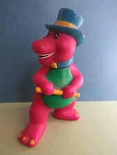 BARNEY TOY FIGURE - Lyons Group Plastic  - 5 Inches - Good!