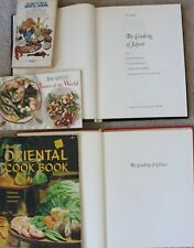 lot of 5 Chinese World Cook Cooking books (Tofu Wok Asian learn cuisine recipe)