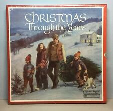 Vintage CHRISTMAS THROUGH THE YEARS (LP Box Set) Reader's Digest (1984) NEW