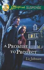 A Promise to Protect (Love Inspired Suspense)-ExLibrary