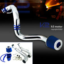 For 2006-2011 Honda Civic DX LX EX 1.8L L4 Cold Air Intake+Blue Filter