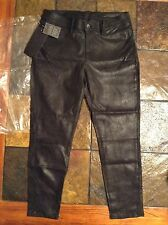 Rag & Bone/JEAN Dash Slouchy Leather Suade Trousers Size 27 See Actual Measurem.