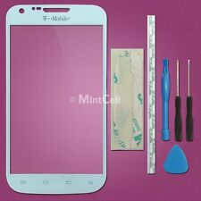 White Front LCD Glass Lens Replacement Samsung Galaxy S2 II T-Mobile SGH T989