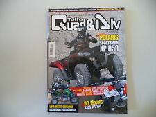 TUTTO QUAD & ATV 4-5/2009 POLARIS XP 850/HONDA TRX 500 FA/KAOS WT 150/ARCTIC CAT