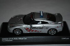 Kyosho 1:43 Nissan GT-R ( 35 ) Official Car Fuji Speedway LHD Limited Edition.