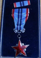 Order of the Red Star  in the box, Czech, Czechoslovakia,