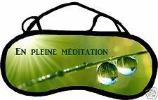 Masque de sommeil cache yeux anti lumière fatigue zen personnalisable REF 59