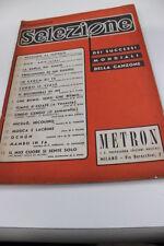 SC15 SPARTITO 1° fascicolo Selezione successi mondiali canzone -Metron
