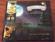 ALICIA KEYS SIGNED BLUE MOON MAMA MAE & LEE LEE JOURNALS BOOK NYC 2014