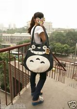 Ghibli My Neighbor totoro flax linen Personality shoulder side-totoro bag
