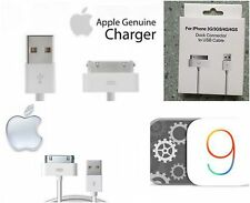 Apple MFi Certified 30 pin to USB Sync and Charge Cable for iPhone 4/4s iOS7 8 9