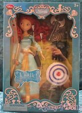 "Disney Brave Merida 11"" Deluxe Talking Doll Set NEW!"