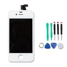 Touch Screen LCD Replacement Assembly Front Digitizer Glass White for iPhone 4S