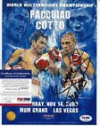MANNY PACQUIAO SIGNED AUTOGRAPH AUTO PSA DNA CERTIFIED AUTHENTIC 8X10 PHOTO