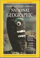 National Geographic December 1980 Aztecs/Tenochtitlan/Coal VS Parklands/Jackal