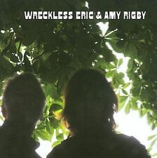 WRECKLESS ERIC & AMY RIGBY Self-Titled 2008 CD - Autographed!