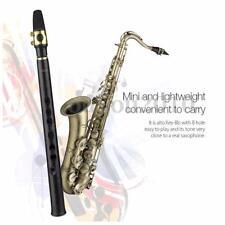 Zebra 8 Holes Key-Bb Key-Bb Mini Sax Pocket Saxophone Xaphoon Alto Mouthpiece