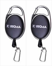 Pack of 2 Shakespeare Sigma Zinger/Tool Clip Recoil Ring For Forceps Fly Fishing