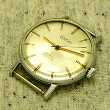 VINTAGE RUSSIAN Men's WATCH CORSAR LUCH SLIM. Mechanism 2209.Thickness 8,0mm