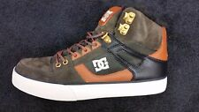 DC SHOES Spartan High Top #400005  -Military color Winter Size 10
