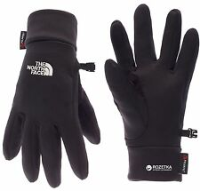 The North Face Stretch Fit PowerStrech Gloves Polartech Black Athletic Size L