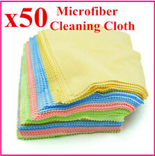50pcsx Microfiber Cleaning Cloth For Phone Screen Camera Lens Glasses