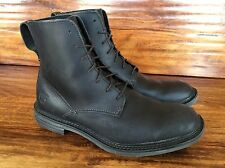 Men's Timberland Earthkeepers Lace Up Boots Black Leather 10 M