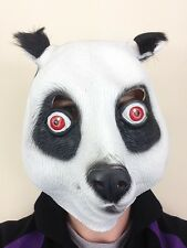 Panda Mask Bear CRO Latex Overhead Movie Quality Zoo Animal Fancy Party