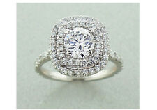 Diamond 1.70 Carats Engagement Ring Set in Platinum with GIA Certificate F VS1