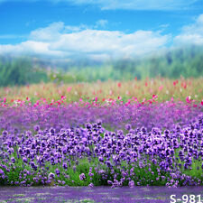 10x10ft Spring Outdoor Flowers Photography Background Thin Vinyl Photo Backdrop