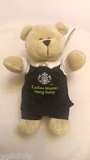starbucks hong kong bearista Reserve Coffee Master Black Apron edition bear new