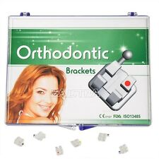 USA Monocrystalline Orthodontic Sapphire Ceramic Bracket mini roth.022 3 4 5HK