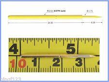"""10p Φ0.0795"""" OAL 1.310"""" pogo spring test pin spear tip"""