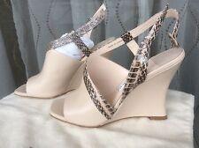 La Fenice S9758A-00913A Beige Womens Shoes Size 6 Heels MSRP $165