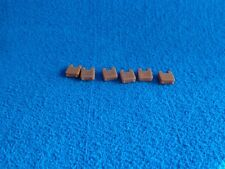Playmobil 6 x pieza intermedia marron Castillo medieval connection piece castle