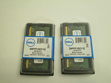NEW 2x1Gb=2Gb Dell SNPPP102C/1G 800Mhz PC2-6400 200pin DDR2 SODIMM memory RAM