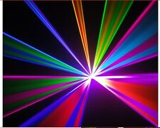 7 COLOUR RGB DISCO LASER LIGHT -  RED BLUE GREEN WHITE PURPLE dj party pub club