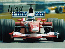 Allan McNish Hand Signed Panasonic Toyota Photo 8x6 1.
