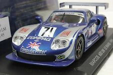 FLY A26 MARCOS LM600 LE MANS 1995 NEW 1/32 SLOT CAR IN DISPLAY CASE
