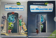 Die Monster AG 2-Disc Disney & Pixar DVD im Papierschuber  (Deluxe Edition) Rar