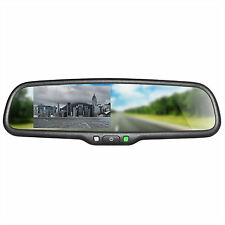 "Master Tailgaters OEM Rear View Mirror with 4.3"" Auto Adjusting Brightness LCD"