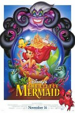 Little Mermaid - original double sided movie poster - DS - 1997 Re-Release
