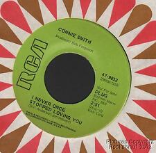 1970 Connie Smith Country DJ M- 45 (I Never Once Stopped Loving You)