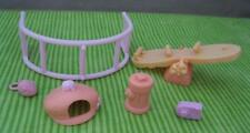Littlest Pet Shop Chase n & Play Park Playground Replace Parts Lot Camera Fence+