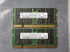 Laptop memory DDR2 PC5300 PC2-5300 1 x 2GB RAM PC6400 PC4200