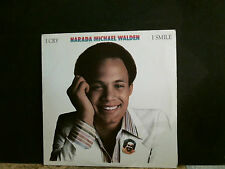 NARADA MICHAEL WALDEN  I Cry, I Smile  L.P.  Lovely copy!