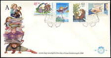 Netherlands 1980 Child Welfare FDC First Day Cover #C27722