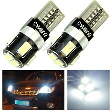 2 x T10 CANBUS W5W 6-LED 5630 SMD FPC Wedge Error Free Lumière blanche Ampoule